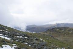 Eine Ansicht der Berge im See-Bezirk, England Lizenzfreies Stockfoto
