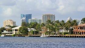 Fort Lauderdale-Skyline Stockfoto