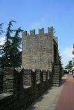 Eine Ansicht an der Straße von San Marino Lizenzfreie Stockbilder
