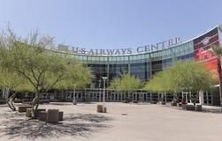 Eine Ansicht der US-Fluglinien-Mitte, Phoenix, Arizona Lizenzfreie Stockbilder