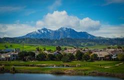 Eine Ansicht des Bergs Diablo Lizenzfreie Stockfotos