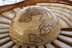 Eine Ansicht des Designdetails das Baiterek, Astana Kasachstan lizenzfreies stockbild