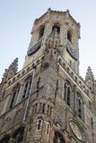 Eine Ansicht des Glockenturms der Kathedrale Stockfotos