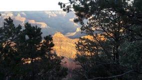 Eine Ansicht des Grand Canyon an einem vollen Tag Lizenzfreies Stockfoto