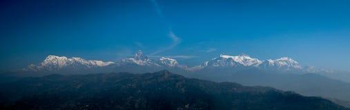 Eine Ansicht des Himalajas Lizenzfreie Stockfotos