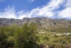 Eine Ansicht des Tafelbergs Stockbilder