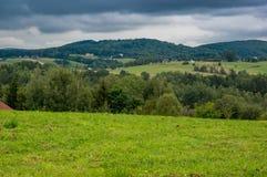 Eine Ansicht am Hügel Lizenzfreie Stockfotos