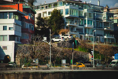 Eine Ansicht im Istanbul, die Türkei Stockbild
