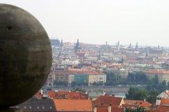 Eine Ansicht nach Prag Stockbild