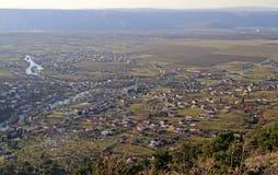 Eine Ansicht von Blagaj-Umgebungen lizenzfreie stockfotografie