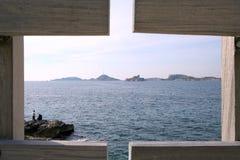 Eine Ansicht von Chateau d'if Lizenzfreie Stockfotografie