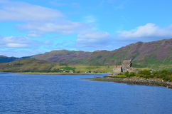 Eilean Donan Schloss, Dornie, Schottland Lizenzfreies Stockfoto