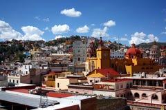 Eine Ansicht von Guanajuato, Mexiko Lizenzfreies Stockbild