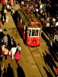 Eine Ansicht von Istiklal-Straße Lizenzfreie Stockfotos