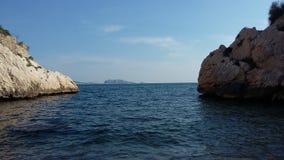 Eine Ansicht von Marseille Stockbilder