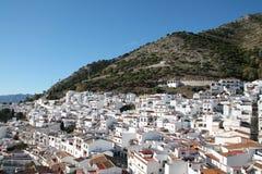 Eine Ansicht von Mijas, Andalusien Stockfotos