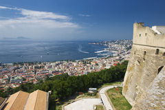 Eine Ansicht von Neapel Stockfotos