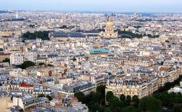 Eine Ansicht von Paris Stockfoto