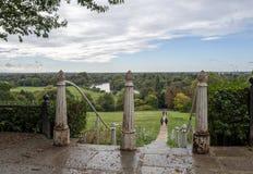 Eine Ansicht von Richmond Hill lizenzfreies stockbild