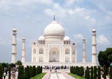 Eine Ansicht von Taj Mahal Stockbild