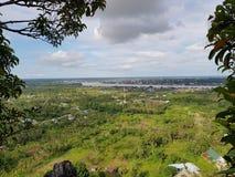 eine Ansicht von tanjung valas, Nord-Borneo, Indonesien lizenzfreie stockbilder
