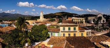 Eine Ansicht von Trinidad, Kuba lizenzfreie stockbilder