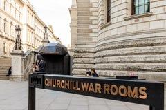Eine Ansicht in Westminster in London lizenzfreies stockfoto