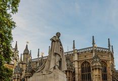 Eine Ansicht in Westminster in London stockfotografie