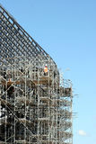 Eine Arbeitskraft des Gebäudes Stockfotografie