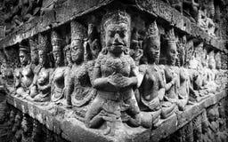 Eine Architektur innerhalb eines Angkor Wats, Siem Reap, Kambodscha stockbild
