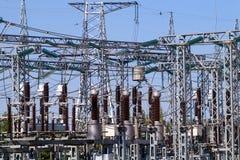 Eine Art vom Fluss Industrie elektrizität Stockbild