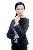 Eine attraktive Geschäftsfrau Stockbilder