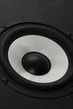 Eine Audiolautsprecherengelsansicht Lizenzfreie Stockfotografie