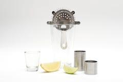 Cocktail-Stangen-Angebot-Ausrüstung Lizenzfreie Stockfotos