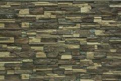 Eine Backsteinmauer für Muster und Hintergründe Stockbilder