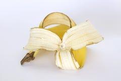 Eine Bananenschale. Lizenzfreies Stockbild