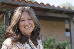 Ältere hispanische Frau Lizenzfreies Stockfoto