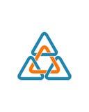 Eine Betriebsversicherungszusammenfassung der Dreieckinitialenzusammenfassung 2 lizenzfreie abbildung