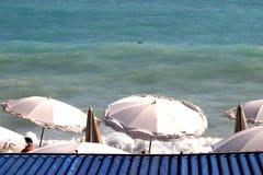Eine blaue Ansicht Stockbild