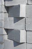 EINE BLOCK-WAND Stockbilder