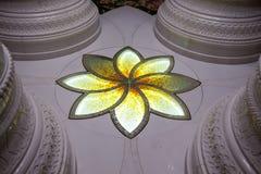 Eine Blume des Lebens in der Sheikh Zayed Grand-Moschee in Abu Dhabi, Lizenzfreie Stockfotos