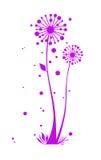 Eine Blumenauslegung lizenzfreie abbildung