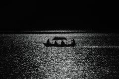 Eine Bootsfahrt im Phewa See Lizenzfreies Stockbild