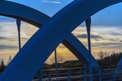 Eine Brücke Lizenzfreies Stockbild