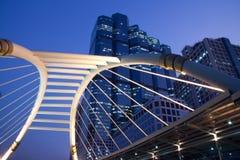 Eine Brücke in Bangkok Stockfoto