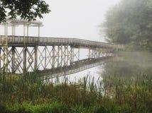 Eine Brücke irgendwo in Georgia Stockbilder