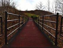 Eine Brücke zur Spitze lizenzfreies stockbild