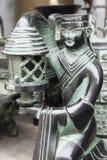 Eine Bronzekunst Lizenzfreie Stockfotos