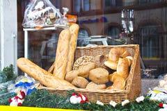 Eine Brotbäckerei stockfotos