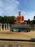 Eine Buddha-Statue Lizenzfreie Stockfotos